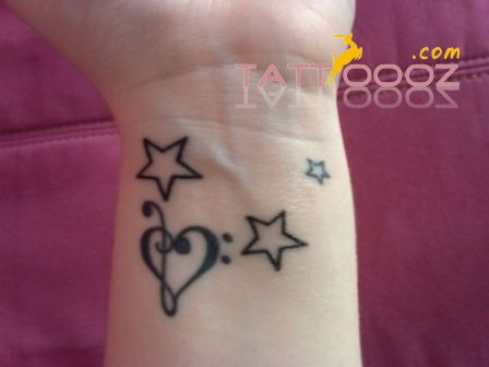 Wrist Tattoo | Star tattoo on wrist, Wrist tattoos for women .
