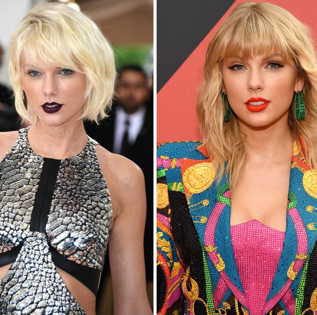 Taylor Swift Hairstyles - Taylor Swift's Curly, Straight, Short .
