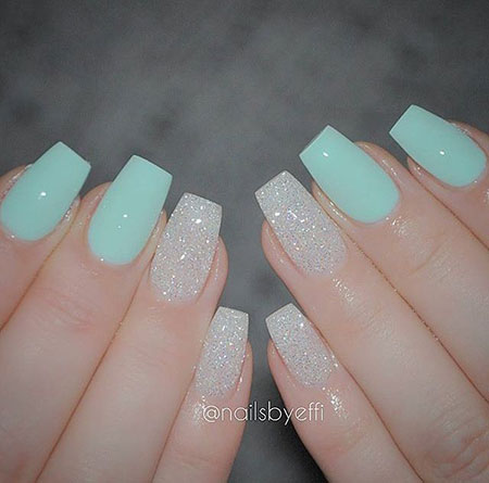 23 Teal Nail Designs | Best Nail Art Designs 20