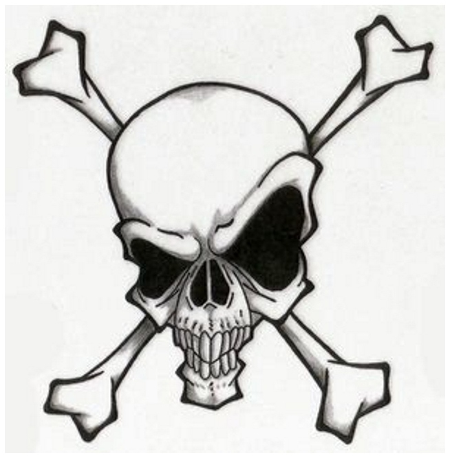 Free Simple Skull Tattoos Designs, Download Free Clip Art, Free .