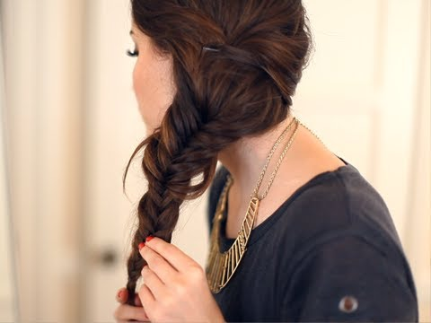 4 Tips For Nailing The Fishtail Braid - Pretty Desig