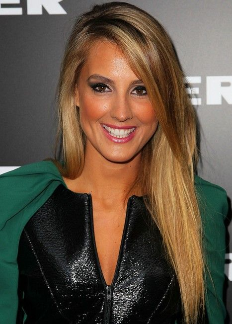 Top 100 Celebrity Hairstyles   Side bangs hairstyles, Straight .