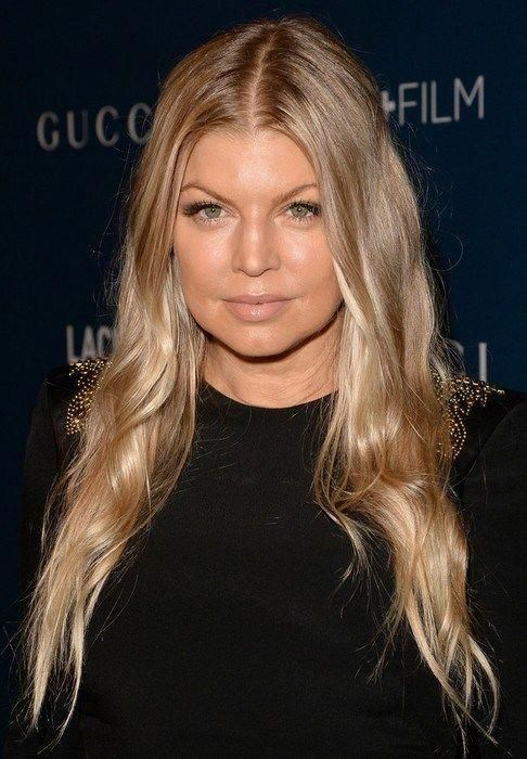 2014-Fergie-Hairstyles-Ombre-Long-Hair Top 100 Celebrity .