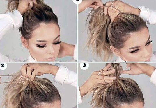 Top Knot Tutorial for Lazy Girls | Top knot tutorial, Short hair .