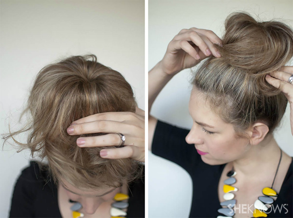 How to: Top knot hairstyle tutorial – SheKno