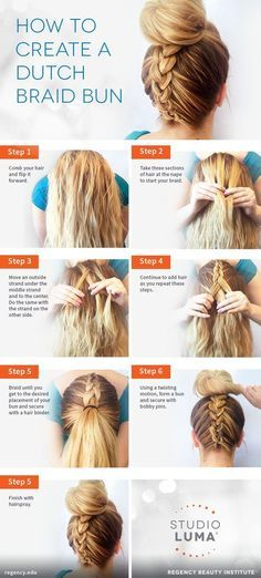 New hairstyles 2018 15 Top Bun tutorials on how to pair your .