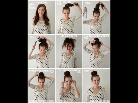 Top Bun Tutorials to Pair Your Turtleneck Sweater - YouTu