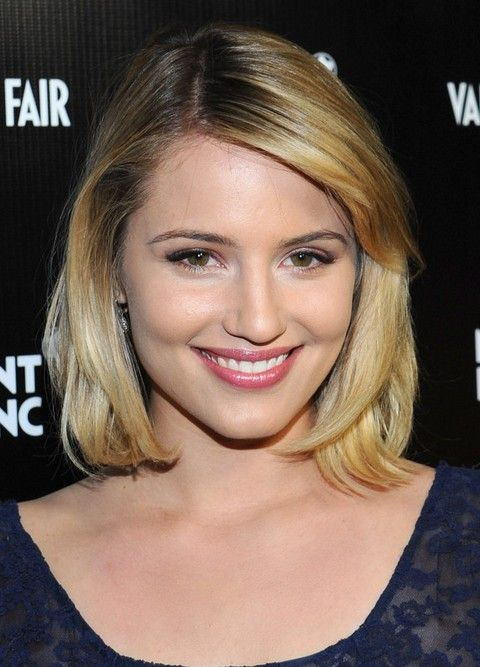 Top 21 Dianna Agron Hairstyles | Frisuren, Medium haare, Bob .