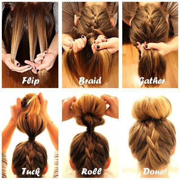 Easy Bun Hairstyle Tutorials For The Summers: Top 10! - Heart Bows .
