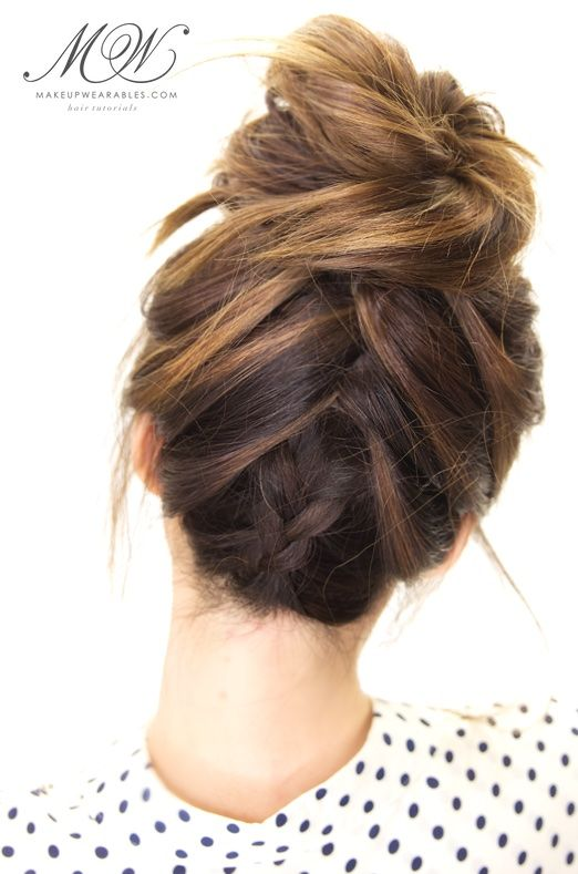 Top 10 BEST braids tutorials to try this Summer | Messy hairstyles .