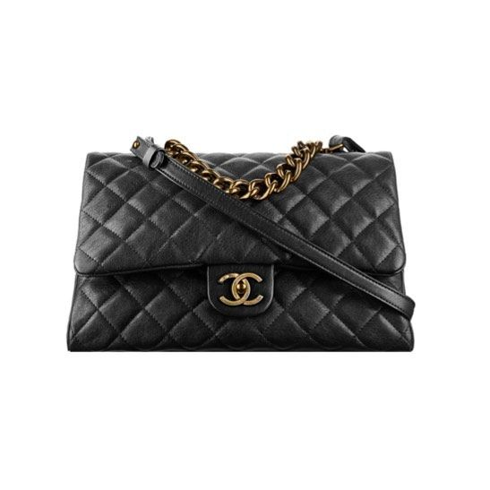 Chanel trapezio large quilted flap bag from the 2016 pre fall .