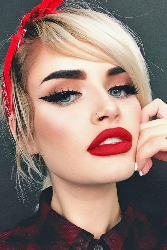 48 Red Lipstick Looks - Get Ready For A New Kind Of Magic | Red .