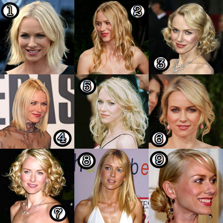 Naomi Watts: Her Best Hair? - Makeup and Beauty Bl