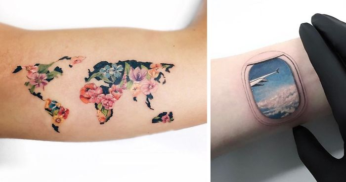 128 Travel Tattoo Ideas That Will Make You Want To Pack Your Bags AS