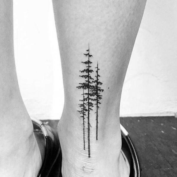 60 Small Tree Tattoos For Men - Masculine Design Ideas | Small .