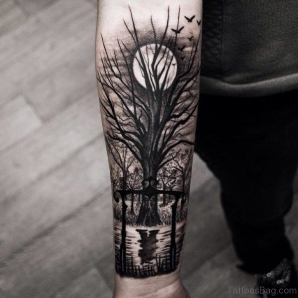 77 Coolest Tree Tattoos For Wri
