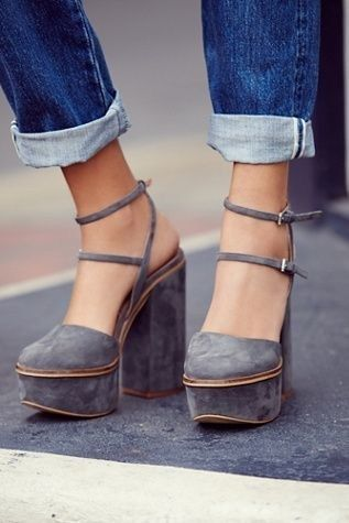 Platform-Shoes-2 Trendy and Chic Platform Shoes in 2019 | Shoes .