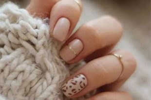 50+ Trendy Animal Print Nail Art Ideas | Swag nails, Leopard nails .