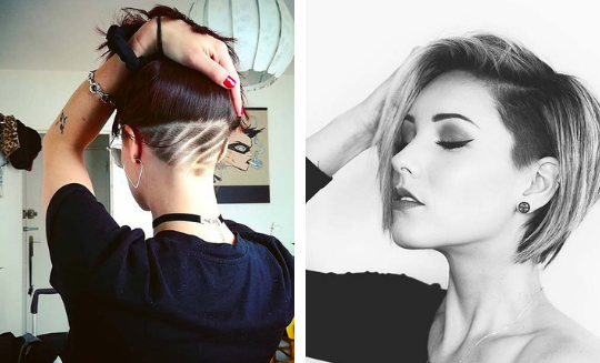 20 Bold and Stylish Undercut Bob Haircuts – Likes M
