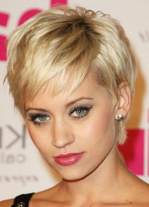 Hairstyles for Thin Hair | Short hair styles 2014, Short .