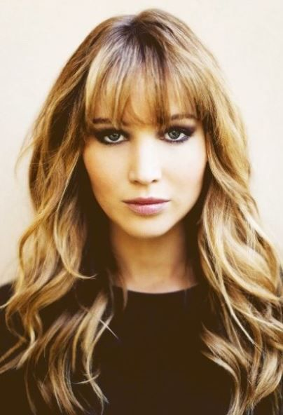 20 long layered haircuts with bangs. Trendy hairstyles for long .