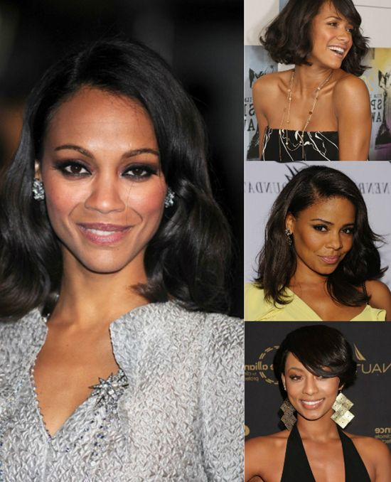Chic Winter Hairstyles for Black Women with Black Hair Extensions .