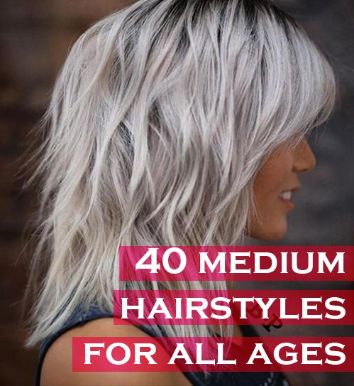 40 Trendy Medium Hairstyles for Women of All Ages – CircleTre
