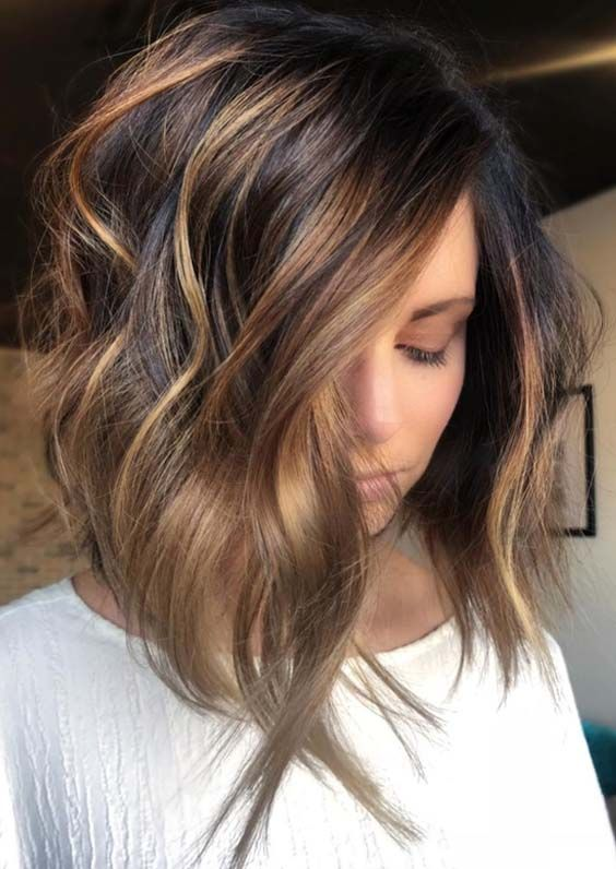 62 Best Texture Tousled Balayage Haircuts To Wear in 2018 | Hair .