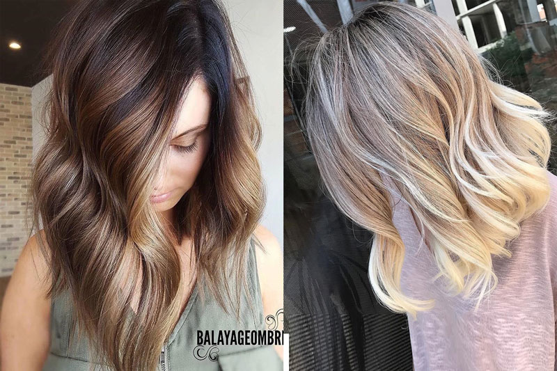 10 Ombre Balayage Hairstyles for Medium Length Hair – Lifob.n