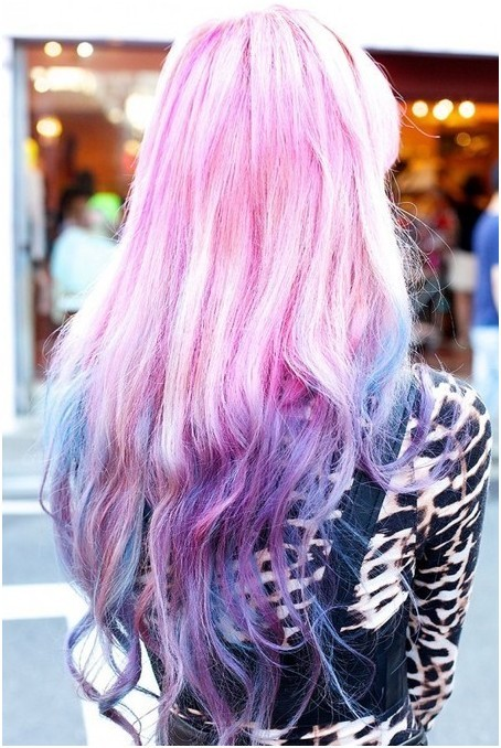 Long, Ombre Hairstyles: Funky Hair Color Ideas - PoPular Haircu