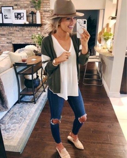 43 Trending Spring Women Outfit Ideas 2019 | Fashion, Outfits with .