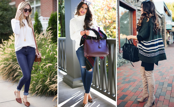 32 Outfit Ideas for Fall & Winter & Spring - Trendy outfits for wom