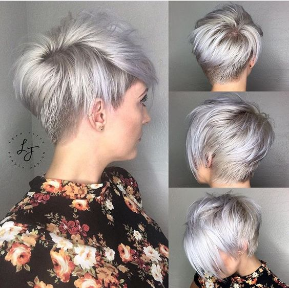 30 Trendy Stacked Hairstyles for Short Hair - Practicality Short .