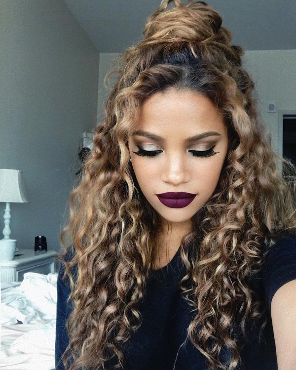 6 Cutie Curly Hairstyle Ideas You Can Follow | Hot hair styles .