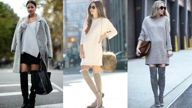 15 Outfit Ideas to Wear Short Maternity Dresses and Over-the-Kn