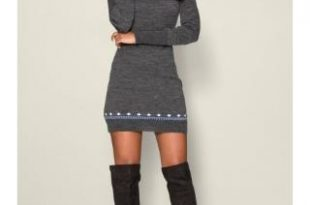 Turtleneck Sweater Dresses for Women – Fashion dress