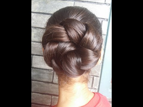 Twisted Bun Hairstyles for Summer