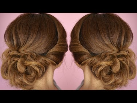 Easy Summer Twist Updo Hair Tutorial - YouTu