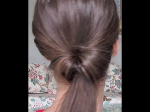 A Twist In the Pony- New Way To Do The Do! Twisted Ponytail Hair .