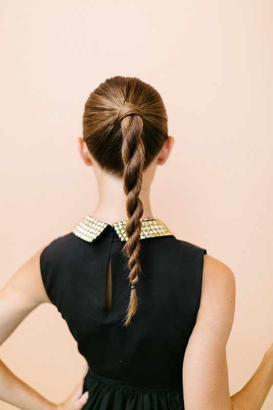 Sophisticated And Trendy DIY Twisted Ponytail To Try - Styleohol