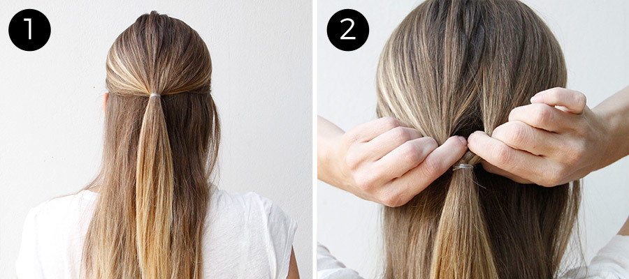 This Double-Twist Ponytail Is The Perfect Five-Minute Hairstyle - Mo
