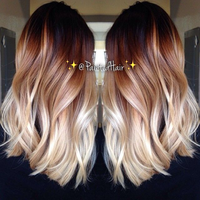 10 Two-Tone Hair Colour Ideas to 'Dye For | Idee per capelli .