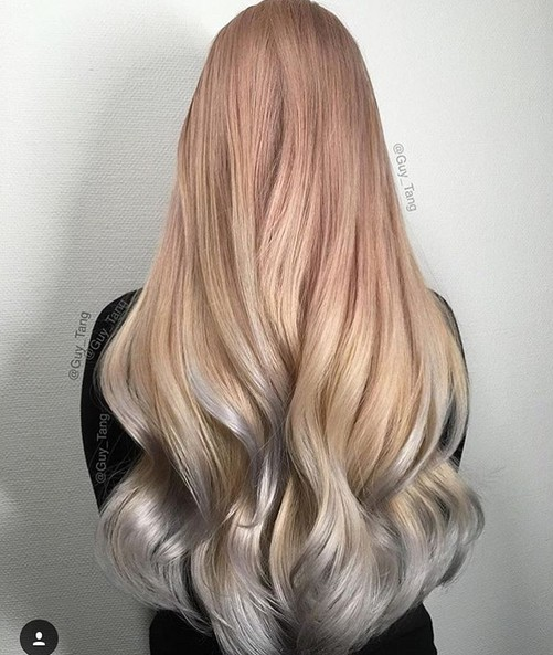 25 Amazing Two-tone Hair Styles & Trendy Hair Color Ideas 2019 .