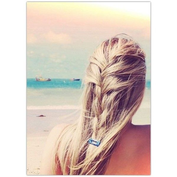 11 Ultra-chic Beach Hairstyles for Pretty Girls 2014 ❤ liked on .
