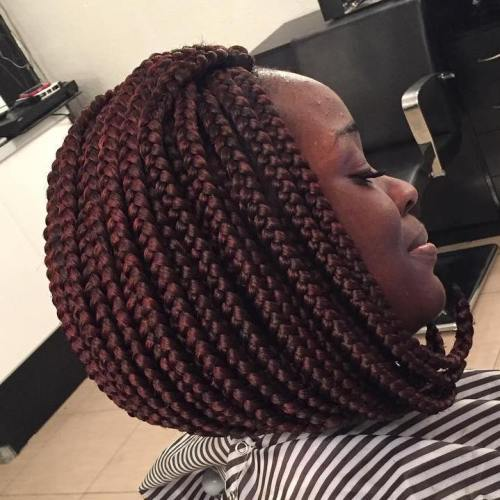 20 Ideas for Bob Braids in Ultra Chic Hairstyl