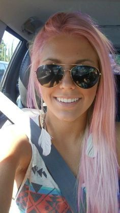15 Ultra-Chic Pink Hairstyles | Hair styles, Pink hair, Cool .