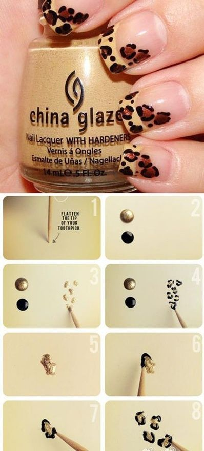 22 Unexpected Nail Art Designs With Tutorials for 2014 | Nails .