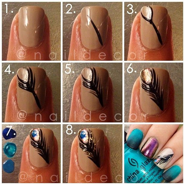 Unexpected Nail Art Designs With   Tutorials