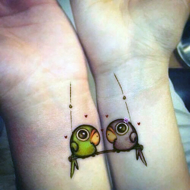 87 Matching Couple Tattoos For Lovers That Will Grow Old Togeth