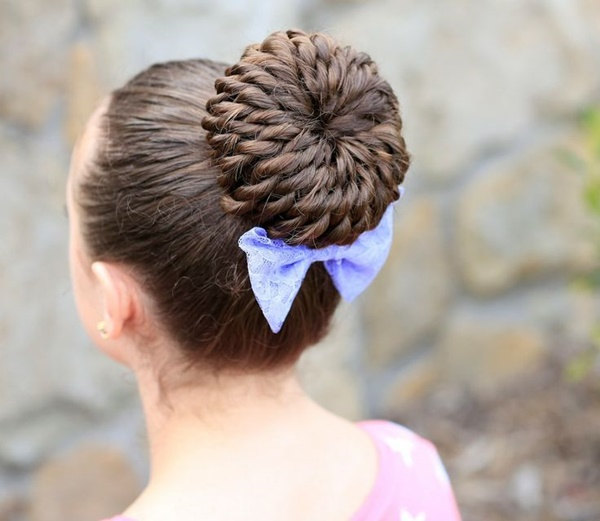 101 Cute & Easy Bun Hairstyles for Long Hair and Medium Ha
